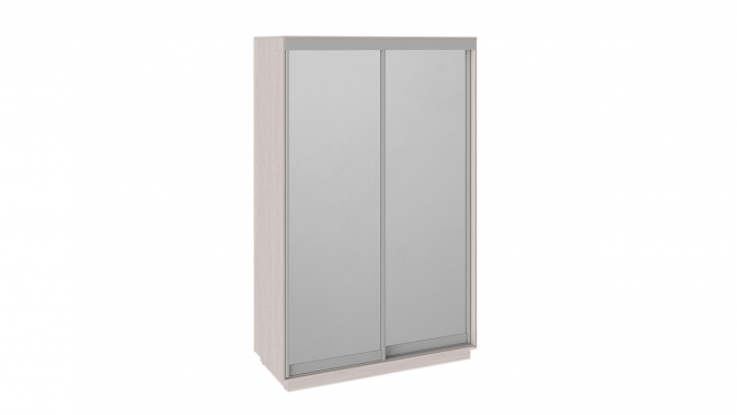 Шкаф-купе 2-х дверный «Румер» Ясень шимо, Зеркало/Зеркало